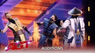 Adem Dance Crew: Asian Robotic Samurai Dancers Come To America! | America's Got Talent 2019