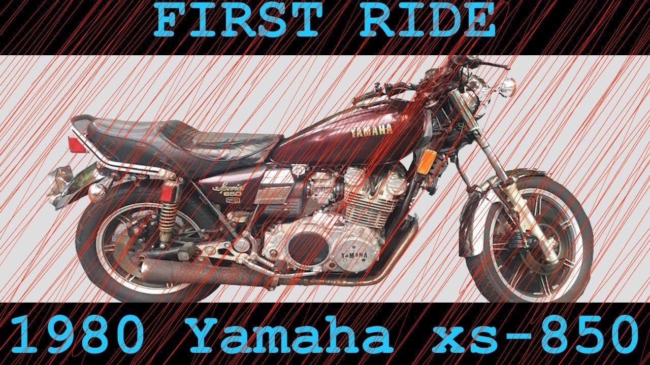 First ride on my new vintage bike! 1980 Yamaha xs850