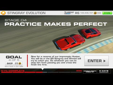 Stingray Evolution Stage 04 Goal 4 Of 5 Real Racing 3 Corvette Z51