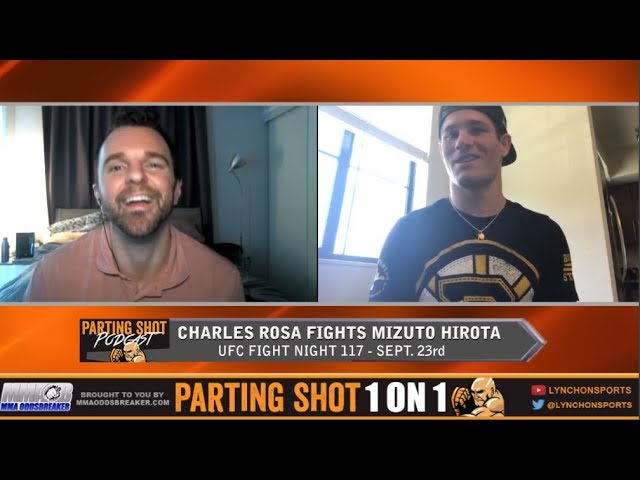 Charles Rosa talks UFC Japan matchup with Mizuto Hirota and Boston Bruins hockey