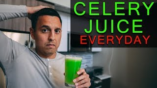 Celery Juice for 365 Days Plus What I Eat In A Day