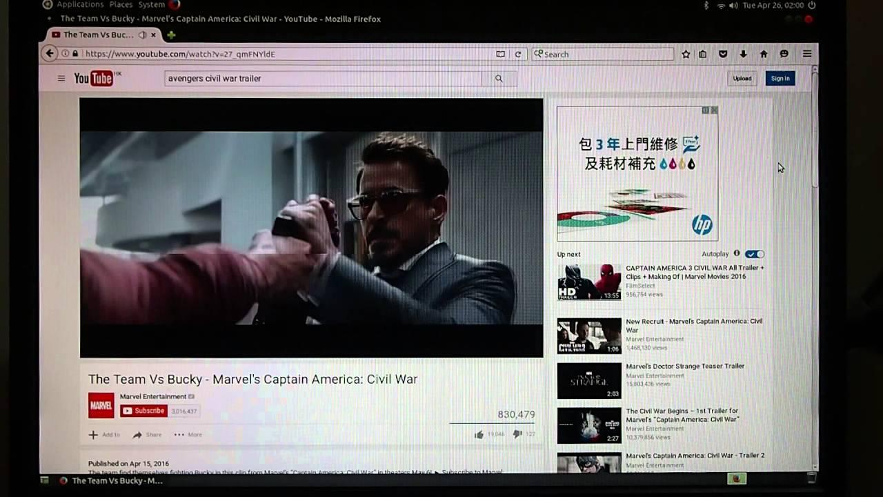 View Youtube on Ubuntu MATE 16 04/Raspberry Pi 3