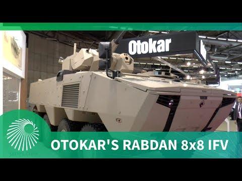 Otokar's Rabdan 8x8 infantry fighting vehicle (IFV)