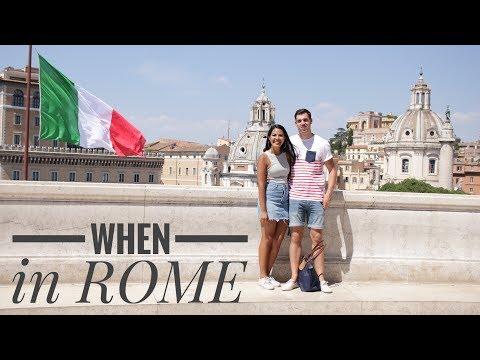 Rome Italy, Vatican city trip (Part 1) || Travel Vlog
