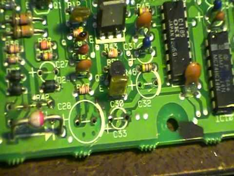 Watch on motherboard resistor