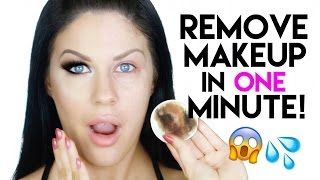 HOW TO REMOVE YOUR MAKEUP IN 1 MINUTE!! QUICK, EASY & AFFORDABLE!!