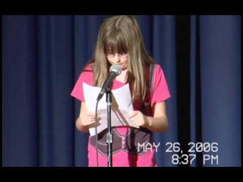 Forrest Park Middle School Spring Talent Show - Melissa Bell