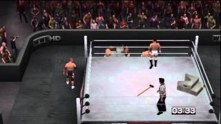Smackdown vs. Raw 2011: X-Division Championship Scramble Match