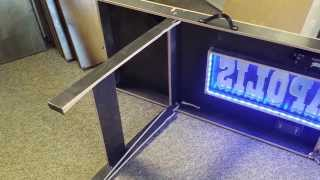 Cool Custom Beer Pong Table With Led Lights