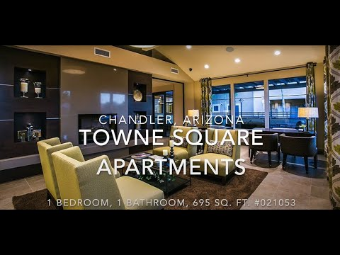 Towne Square Apartment Homes Chandler Az 1 Bedroom Youtube