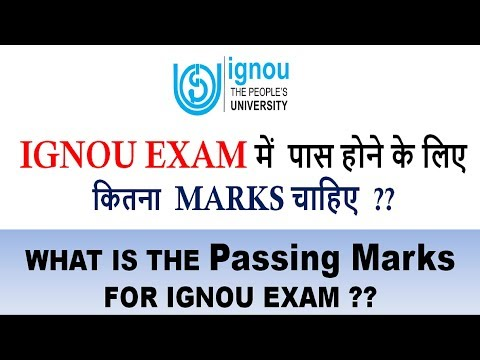 IGNOU PASSING MARKS IN THEORY,ASSIGNMENT & PRACTICALS FOR BACHELORS & MASTERS DEGREE STUDENTS