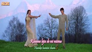 Humko Humise Chura Lo - Sub Español/ With Lyrics - Mohabbatein