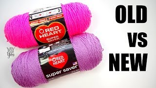 What Has Happened to Red Heart Super Saver Yarn?   Yay For Yarn