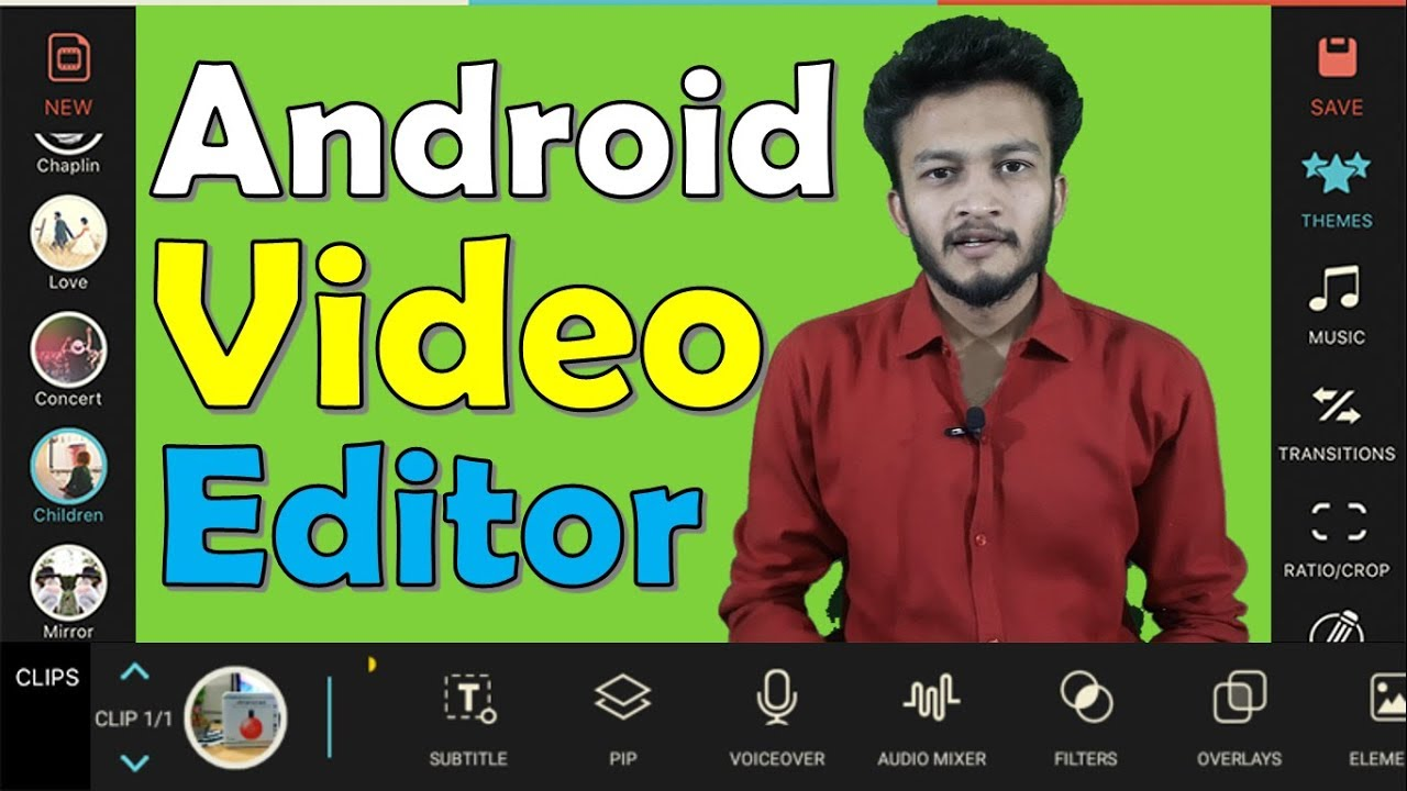 {HINDI} Best video editor for android || Android Video Editing || video editing apps for android