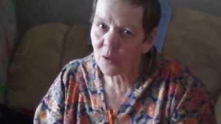 Г. Конюхова поет чувашские песни