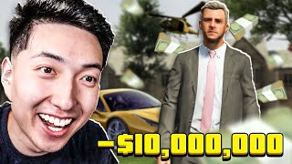 I SPENT $10 MILLION IN 24 HOURS IN GTA 5.. (Grand Theft Auto V)