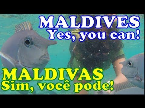 Ilhas Maldivas pra cidadãos comuns! Dicas pra viajar barato!
