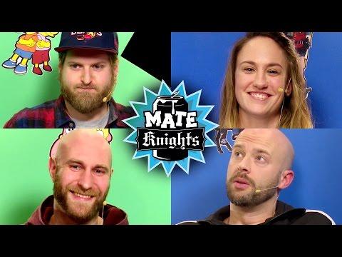Mate Knights #005   Hannes & Felix gegen Anne & Maurice