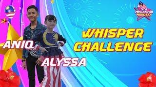 Download lagu Lawak bila Alyssa & Aniq dalam Whisper Challenge! | Ceria Megastar Merdeka