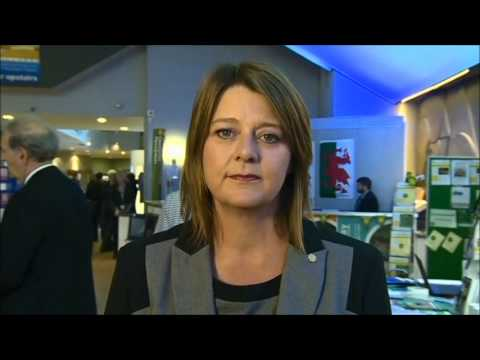 Plaid Cymru leader Leanne Wood interviewed on Independence