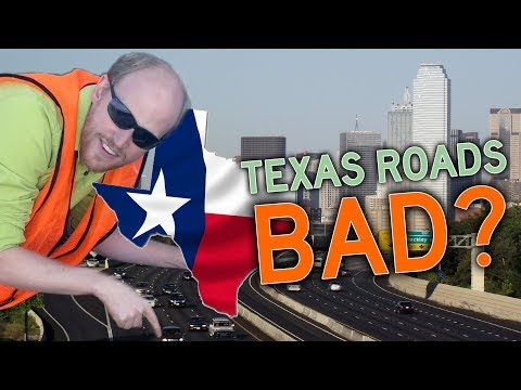 Michael Berry - Texas Roads Are Bad. Says Dude From California.