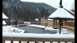 la Bouysse sous la neige