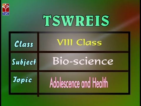 TSWREIS || Bio-Science - Adolescence & Health || Live With Ananya (Super Student & Team)