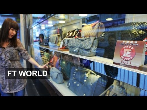 Chinese shoppers embrace thrift | FT World