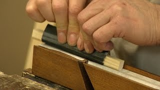 How To Sharpen A Moulding Plane With Paul Sellers