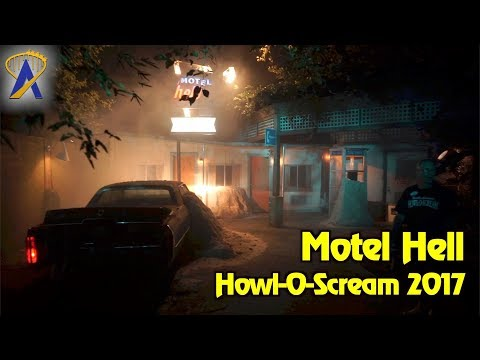 Motel Hell at Howl-O-Scream 2017 Busch Gardens Tampa Bay