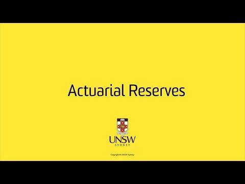 Actuarial Reserves