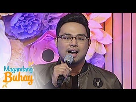 """Magandang Buhay: Jed Madela sings """"Patuloy Ang Pangarap"""""""