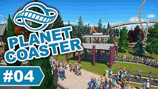 Wartebereich + Harry Potter Bahn | Planet Coaster - Basti zockt #04