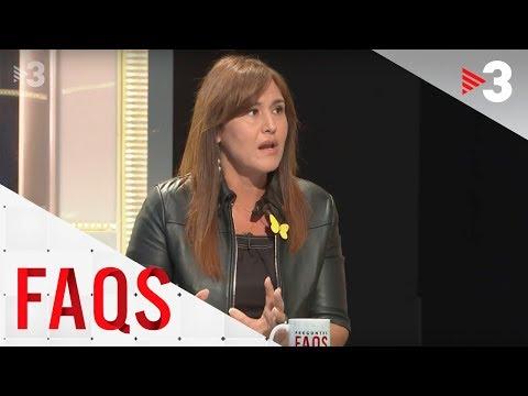 """Laura Borràs: """"A Felip de Borbó li vaig destacar la manca d'empatia amb els presos"""""""