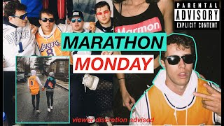 The Ultimate College Day Party  MARATHON MONDAY  vLog 2018