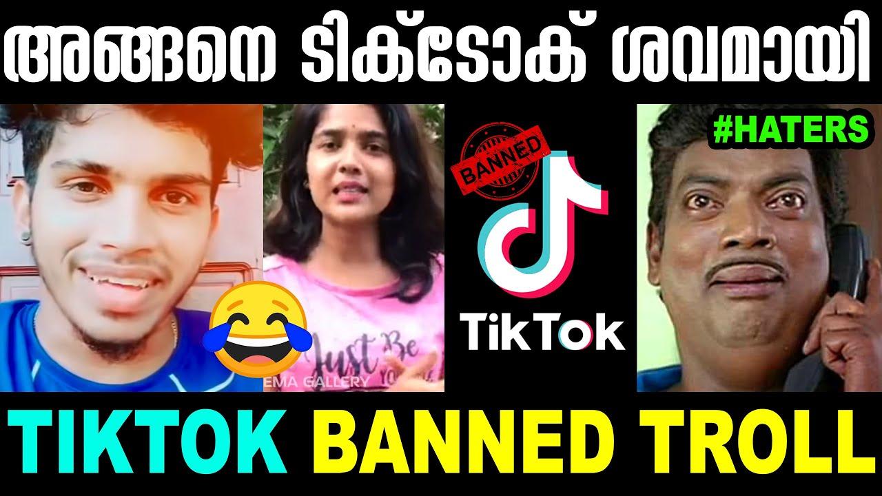 അങ്ങനെ ടിക്ടോക് ശവമായി |Tiktok Banned Troll Malalyalam | Chinese Apps Banned Troll | Mallu Yankee