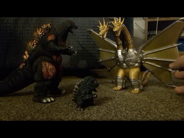 Burning godzilla X fire mothra episode 22