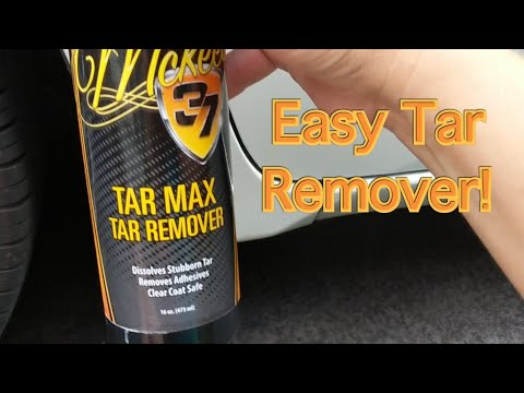 Easy and affordable Tar Remover!