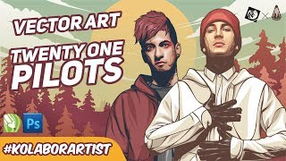 FREE DOWNLOAD TWENTY ONE PILOTS VECTOR | #KOLABORARTIST (2)