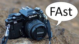 Nikon FA Video Manual 2 of 2