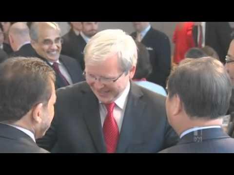 Rudd speaks on rise of China's economy