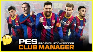Is This One Of The BEST FREE Football Manager Games? - (PES Club Manager) screenshot 5