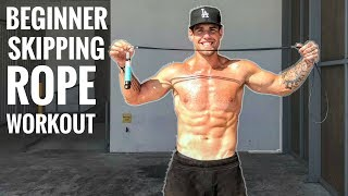 Beginner Skipping Rope Workout For Fat Loss