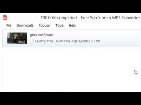 Free YouTube To MP3 Converter - Videos In MP3s Umwandeln