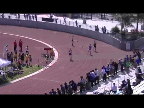 Kingsburg Rafer Johnson Invitational 2013 Boys 4X100 Relay Heats 1-2-3