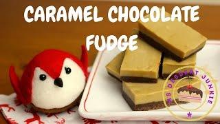 Chocolate Caramel Fudge Recipe - Home-made Christmas | Msdessertjunkie