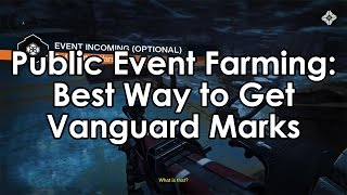 Destiny: Best Way to Farm Vanguard Marks – Public Event Farming Guide