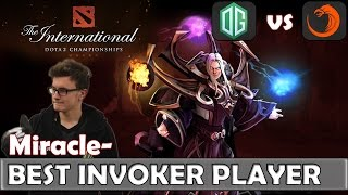 Miracle- BEST INVOKER in The WORLD | OG vs TNC Game 1 | Group Stage TI6