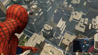 The Amazing Spider-Man 2 Free Roam Gameplay: Swinging Through New York