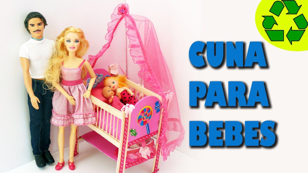 Diy miniatura cuna para los bebes de tus mu ecas - Como hacer un cambiador para bebes ...